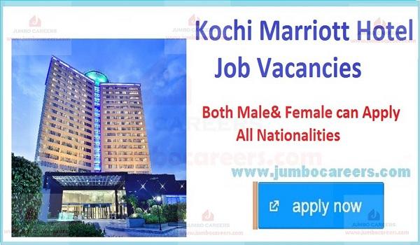 5 star hotel jobs in Kochi Kerala,
