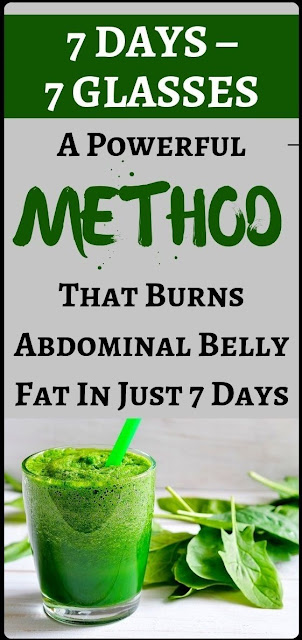 7 Days – 7 Glasses: A Powerful Method That Burns Abdominal Fat!