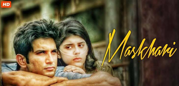 Dil Bechara lyrics - Maskhari | Official Video | Sushant, Sanjana