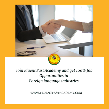 Job opportunities in foreign language