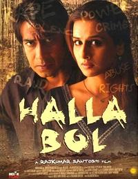 Poster Halla Bol