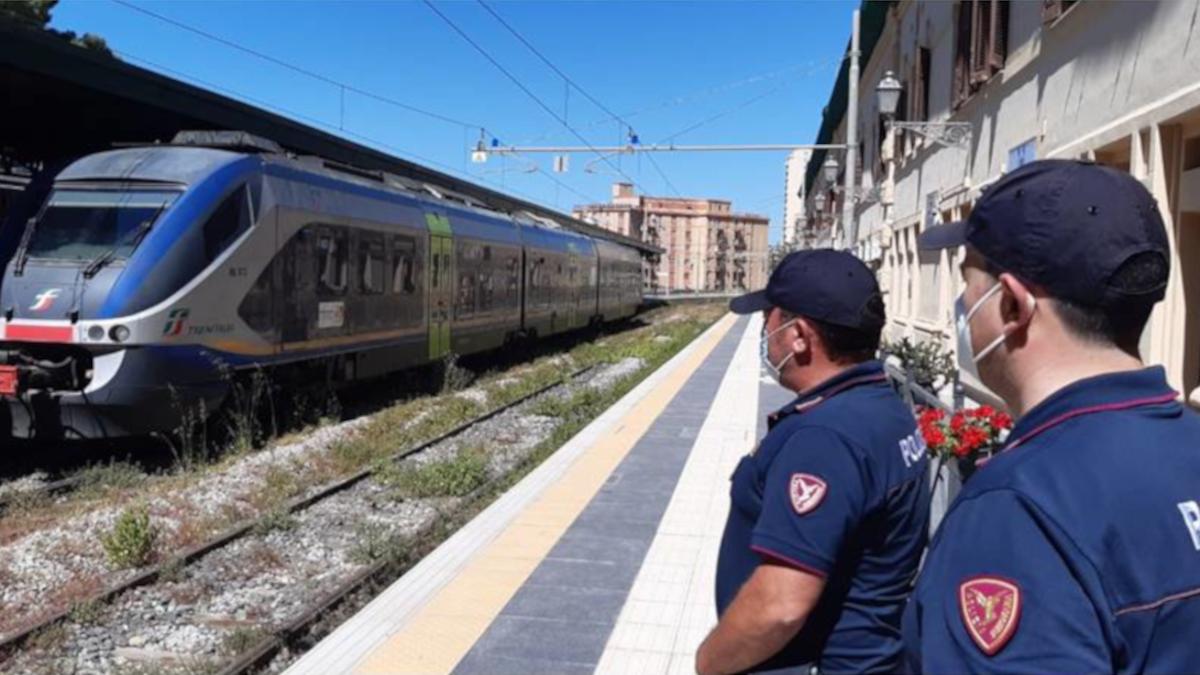 Polizia Ferroviaria Polfer Operazione Stazioni Sicure Stazione Centrale Catania