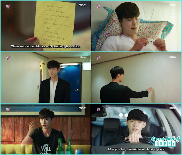 kang chul hand start to disappear - W - Episode 11 Review