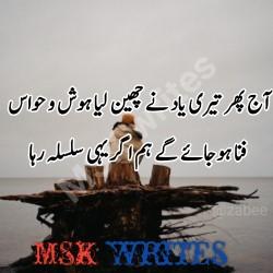 Abu Ki Yaad Poetry
