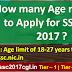 SSC CGL 2017 Age Limit