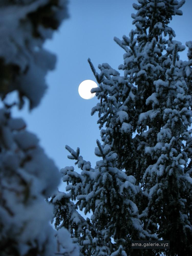 Poème sur la lune par Ama Sculpteur Vergons