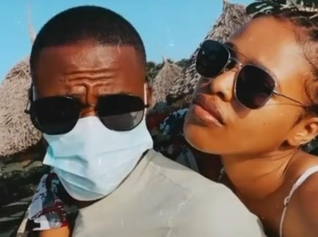 Thembinkosi Lorch and Natasha Thahane