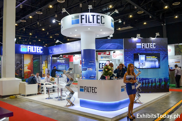FILTEC Tradeshow Display (front)