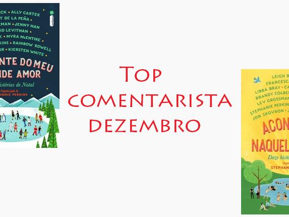 Top comentarista: dezembro 2019