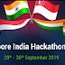 Singapore - India Hackathon 2019 organized