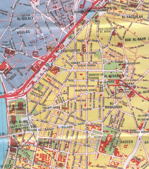 خريطة القاهرة Cairo Map