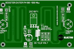 Membuat Booster Pemancar FM 1971 Simple