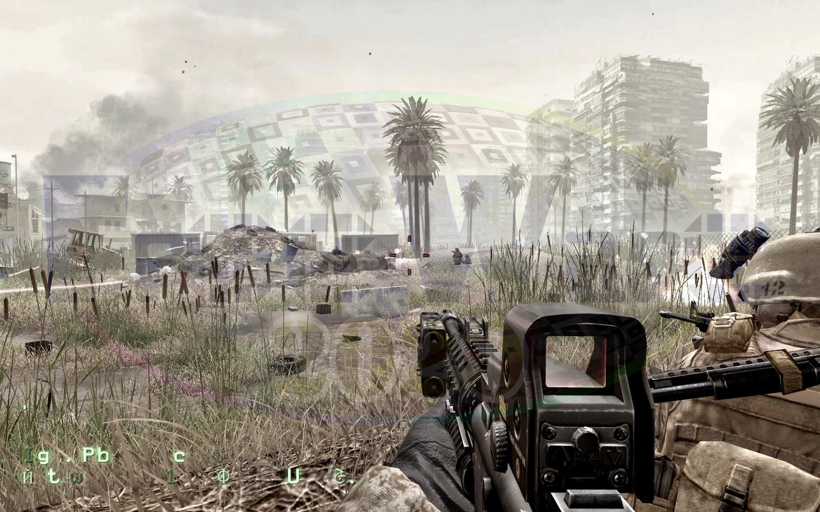 تحميل لعبة Call of Duty 4 مجاناً