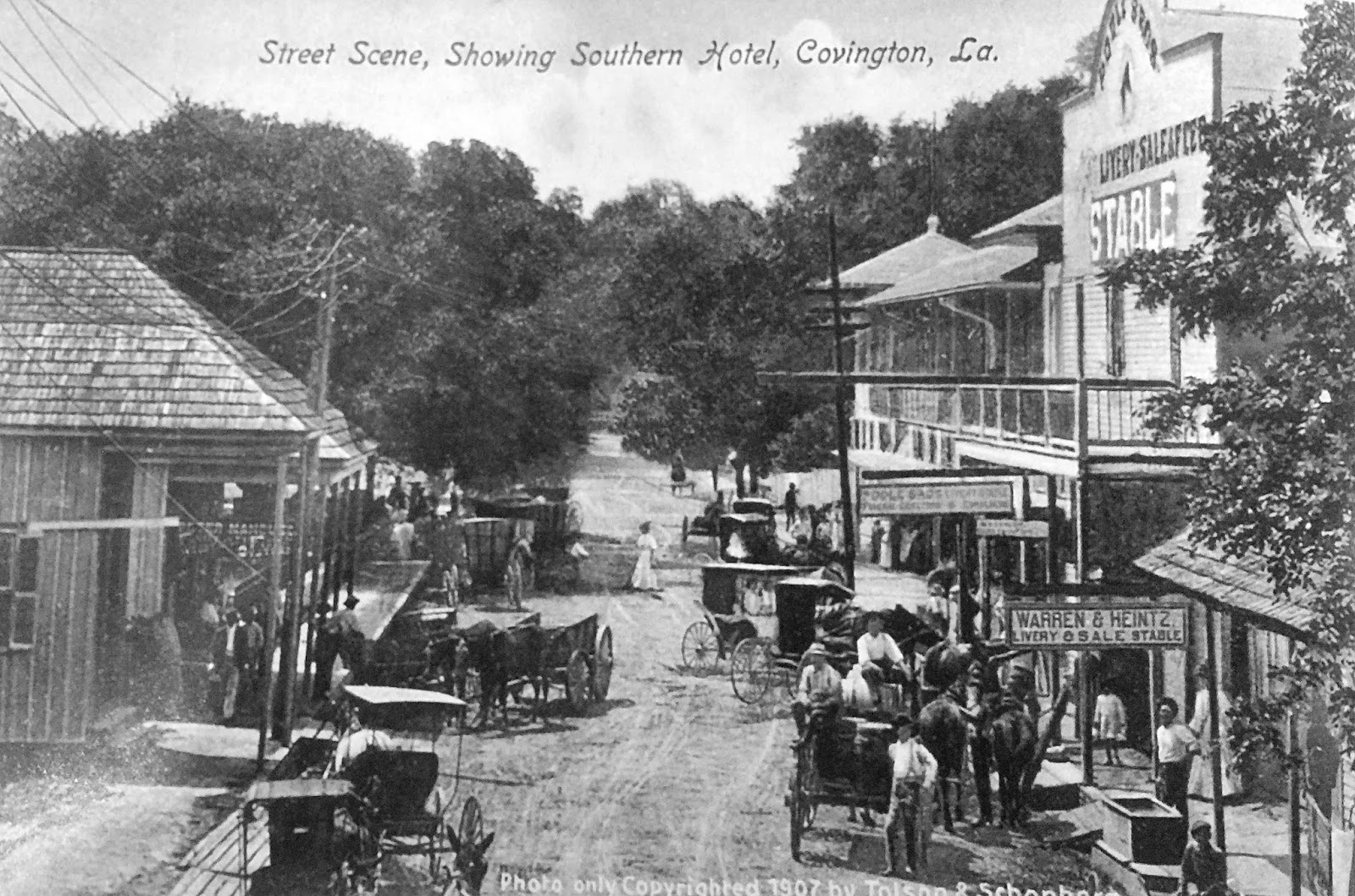 Tammany family more old covington street scenes for The covington