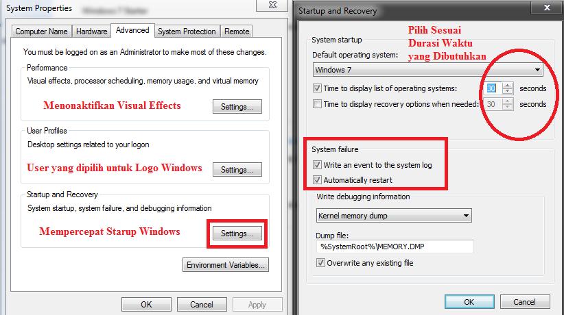 Cara Mempercepat Kinerja Windows 7   Muhammad Rizali Hadi