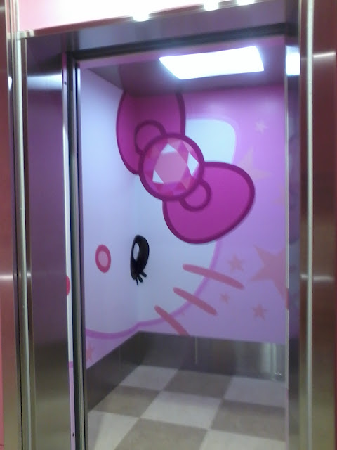 Hello Kitty Parking Park USJ