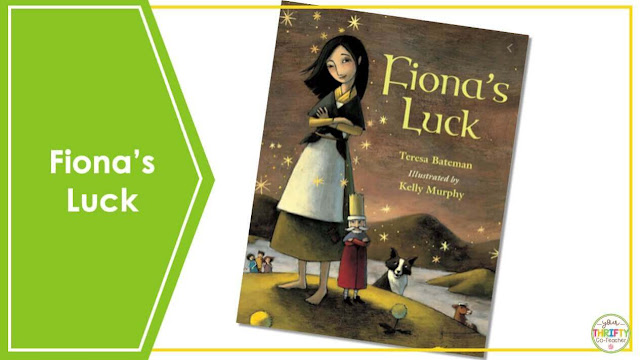 Are you looking for St. Patrick's Day Books you can share with your upper elementary students? Fiona's Luck is a perfect book to share with your 4th and 5th graders.