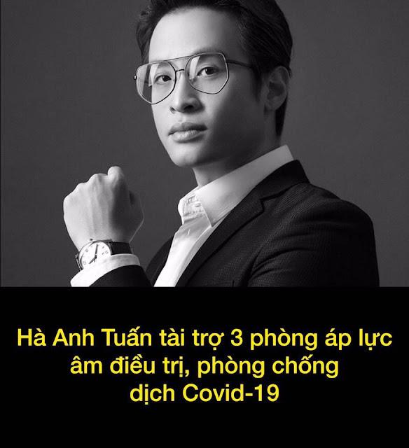 Ca sĩ Hà Anh: Một nghệ sĩ đầu tiên quyên góp phòng dịch Covid-19