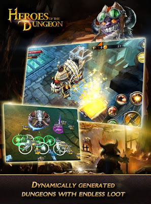 Heroes of The Dungeon Apk Mod Unlimited Skill + Mana - akozo.net
