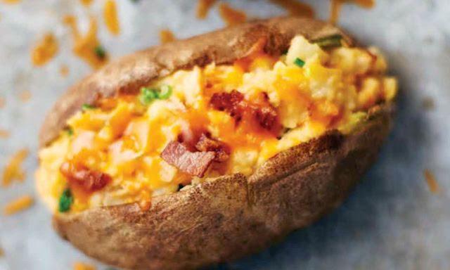 قائمة افطار رمضان 2020 - طبق جانبي ومقبلات - بطاطس  محشية بالجبن