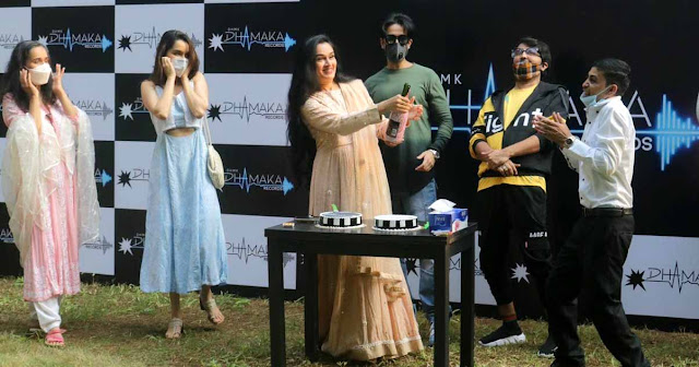 Padmini Kolhapure announces her own music label Dhamaka Records to be launched soon
