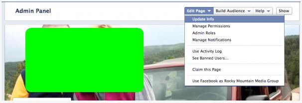 Change Facebook Url