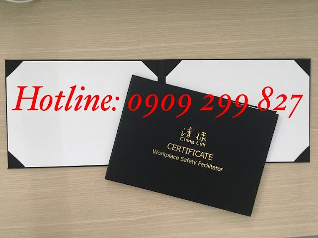 Mẫu bìa đựng tốt nghiệp chất lượng và sang trọng nhất - 0909 299 827 5