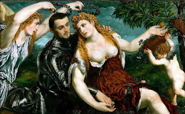 Paris Bordon - Allegoria - arte - dipinti - erotismo