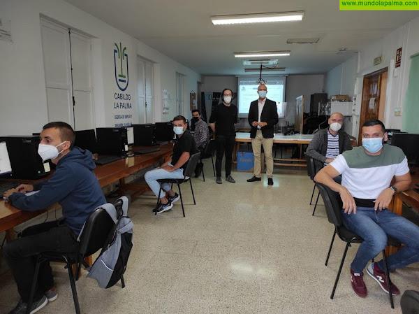 El Cabildo forma a los ayuntamientos en la gestión de la Plataforma Web para la Agenda Deportiva de La Palma