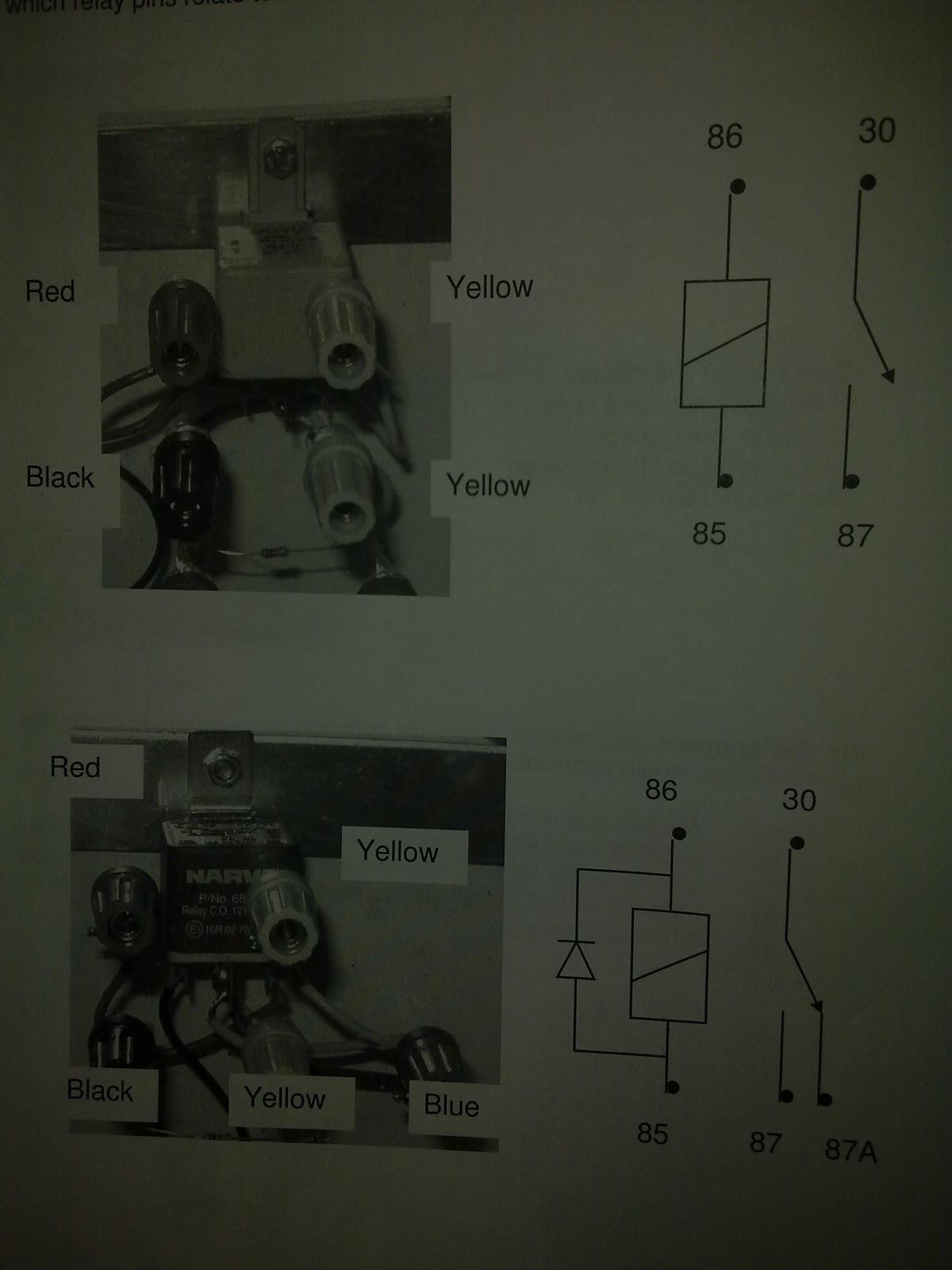 Electrical Relay Designations