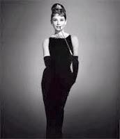 patrón gratis vestido Audrey Hepburn