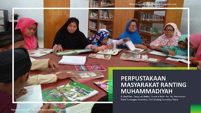 Cahaya Ilmu dan Peradaban Jatuh Bangun Perpustakaan Masyarakat Ranting Muhammadiyah Deli Serdang Sumatera Utara