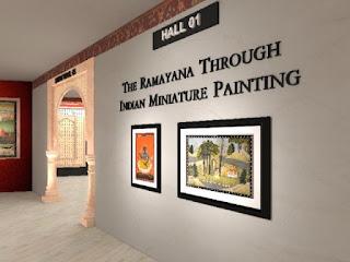 Online Exhibition on Ramayana