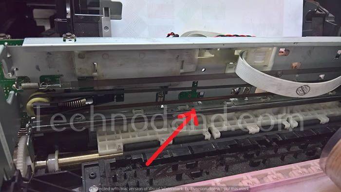 Komponen Penyebab General Error dan Paper Jam Printer Epson L Series