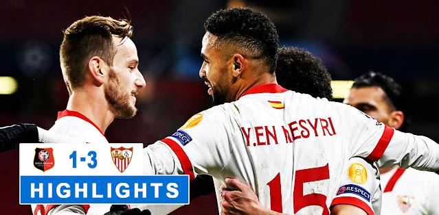 Rennes vs Sevilla – Highlights