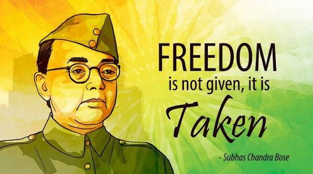 Death of Netaji Subhas Chandra Bose