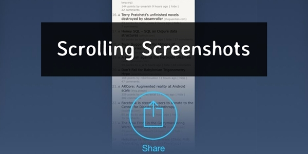Cara Screenshot Panjang di HP Samsung