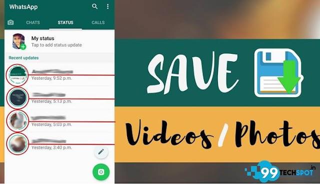 Whatsapp Status Kaise Save Kare (Photo & Video)
