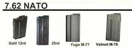 Магазины для АК 7.62 НАТО