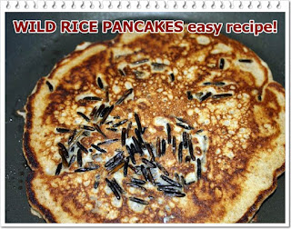 WILD RICE PANCAKES easy recipe