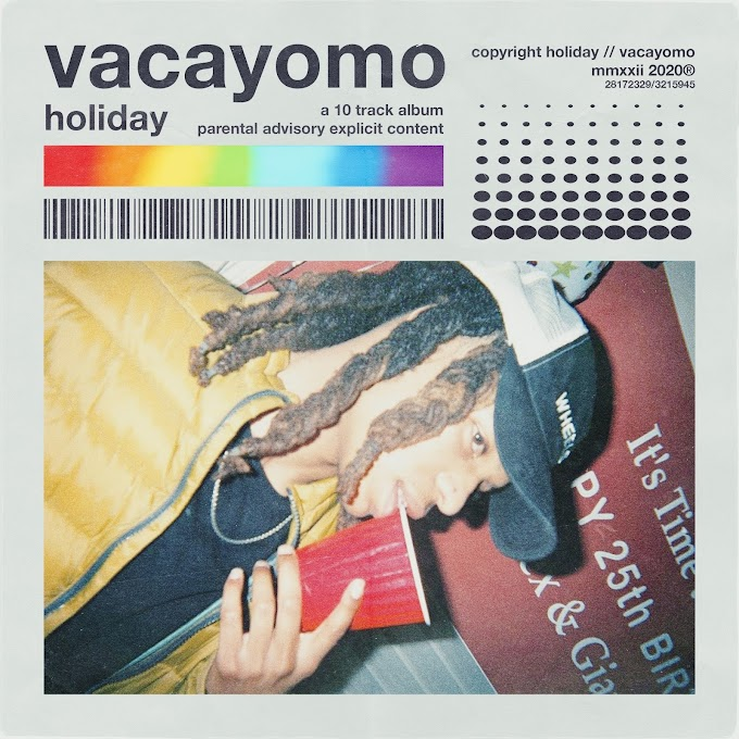 Holiday Releases Dope Trap-ish R&B Project -- Vacayomo