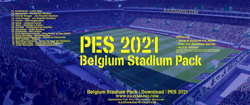 Belgium Stadium Pack For eFootball PES 2021
