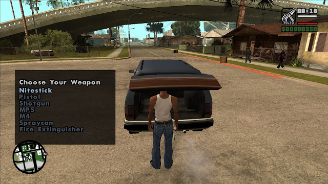Guns In The Trunk GTA San Andreas For Pc