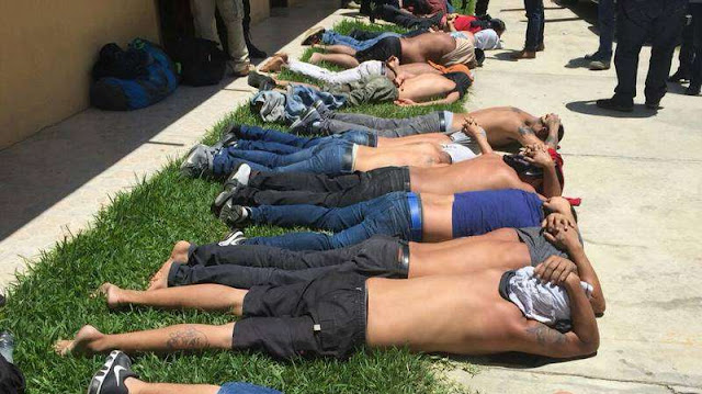 Uno de lo mas grandes golpes dados a El CJNG, capturan en Chiapas a 48 integrantes del Cártel del Mencho