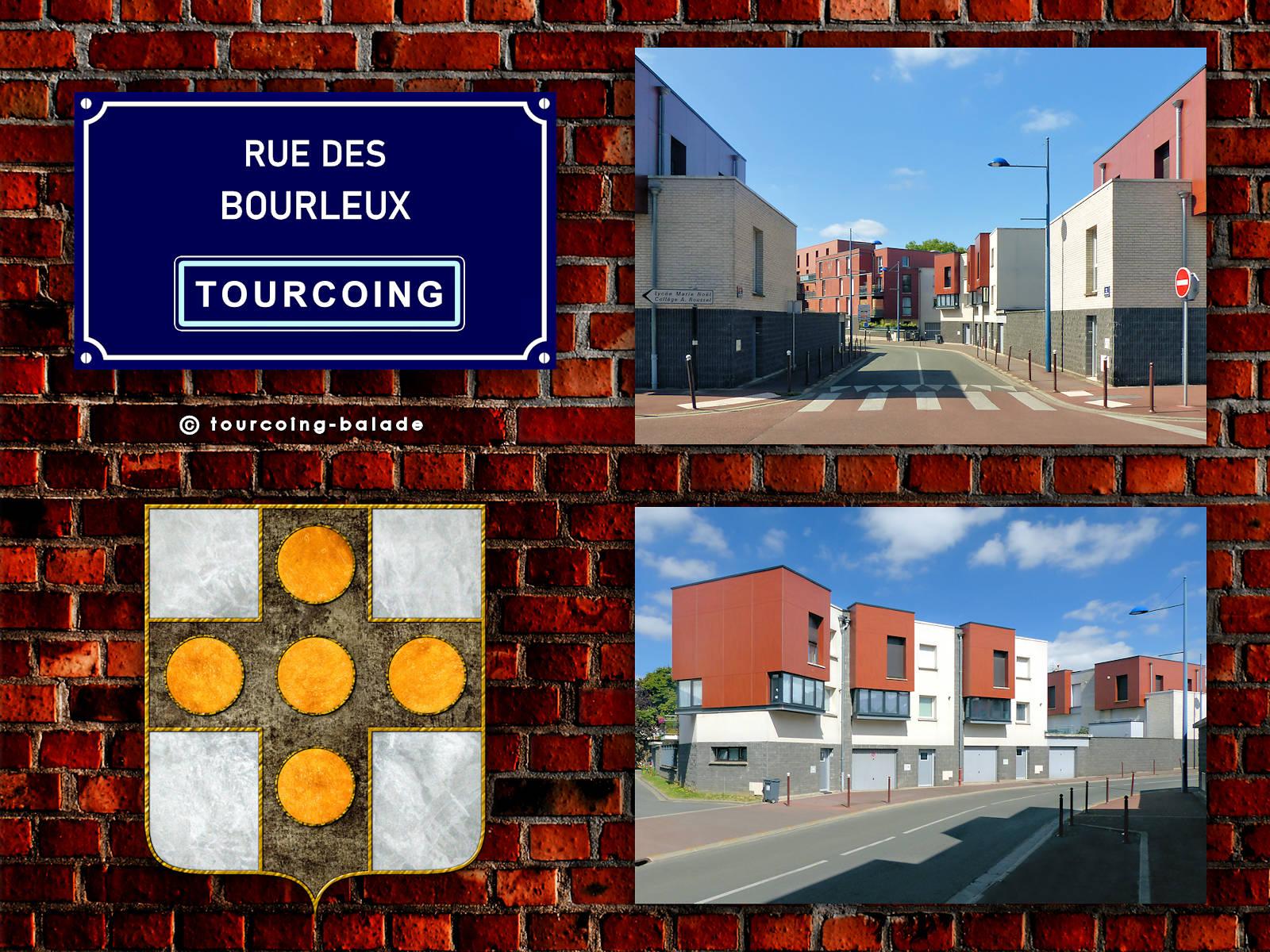 Rue des Bourleux, Tourcoing 2020