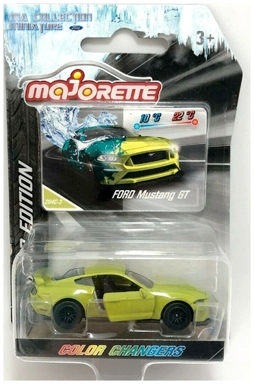 Majorette, Color Changers, Ford Mustang GT