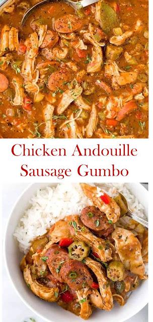 Chicken Andouille Sausage Gumbo