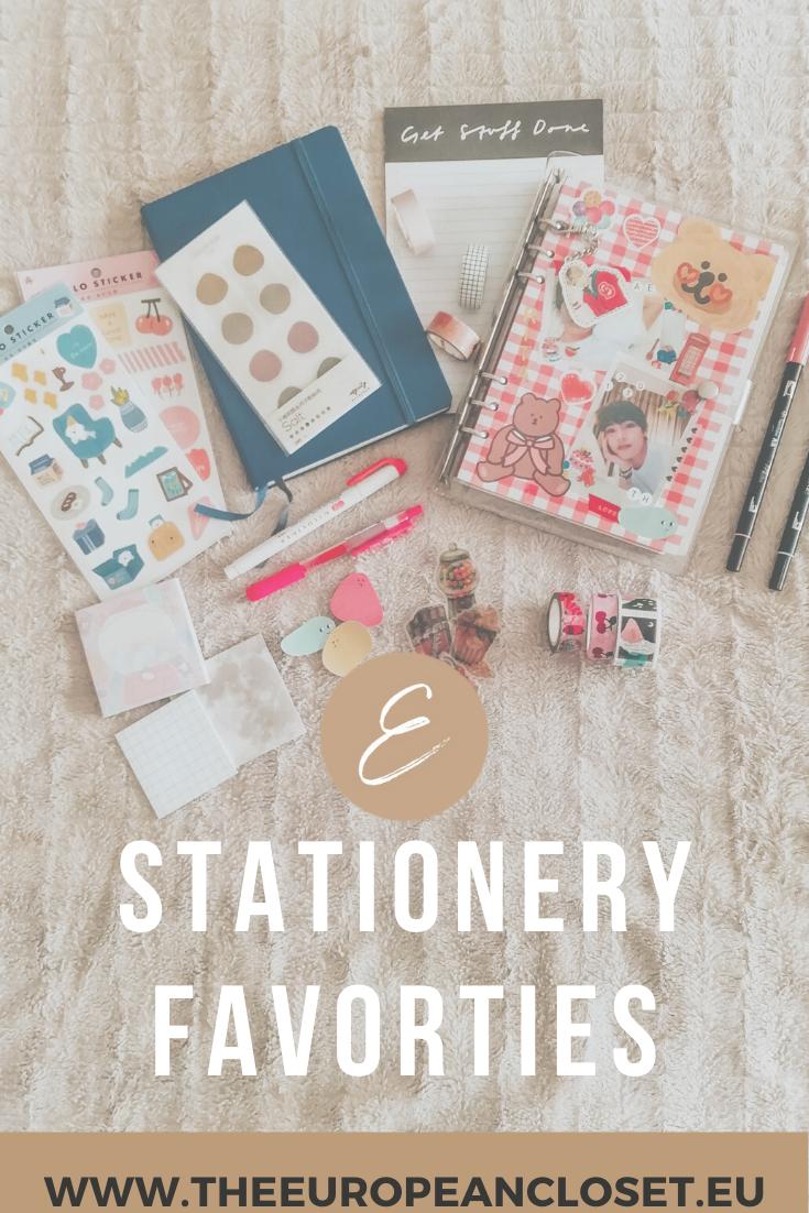 Stationery Favorites