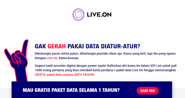 Live.On by XL Axiata