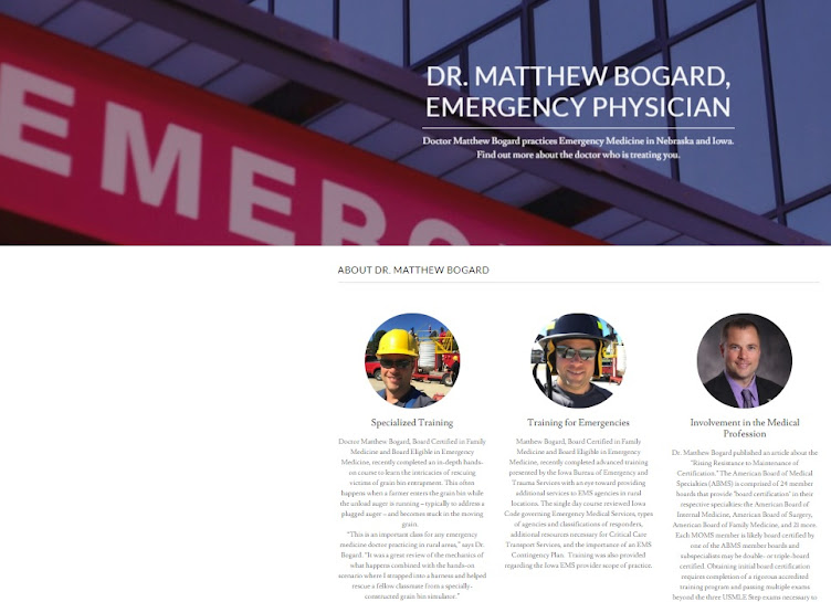 Matthew Bogard, Medical Doctor in Nebraska and Iowa